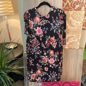Loft Vintage Floral Swing Dress